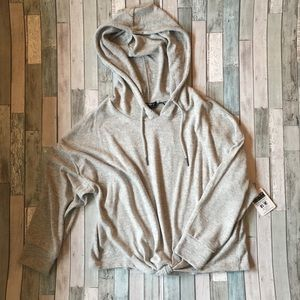 Hooded Crop Sweatshirt